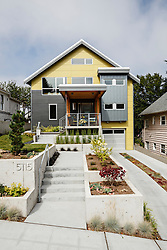 Architectural photos of the a residence in Seattle, WA