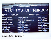 Michael Fickett,17-year-old, is remembered on a mural for victims of murder in the 2700 block of 47th street in Chicago, in this photo taken September 20, 2017.  Fickett was shot in the chest in the 5700 block of South Homan and died August 9, 1992.