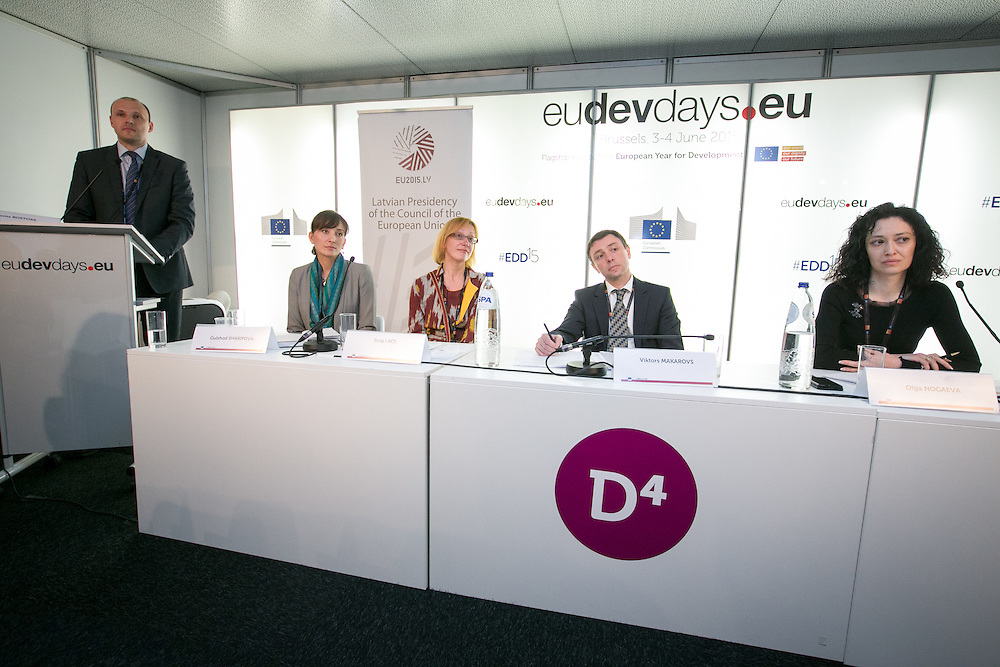 04 June 2015 - Belgium - Brussels - European Development Days - EDD - Gender - Empowering women in Central Asia - Stories from the field © European Union