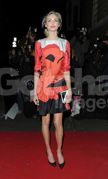 Actress Tamsin Egerton attends the YSL Beauty: YSL Loves Your Lips party at The Boiler House,The Old Truman Brewer in London, UK. 20/01/2015<br />
