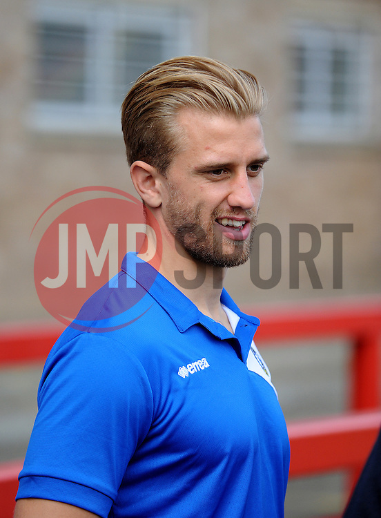 Will Puddyl of Bristol Rovers - Mandatory by-line: Neil Brookman/JMP - 25/07/2015 - SPORT - FOOTBALL - Cheltenham Town,England - Whaddon Road - Cheltenham Town v Bristol Rovers - Pre-Season Friendly