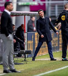 11-03-2018 NED: FC Utrecht - Vitesse, Utrecht<br /> Utrecht verslaat met 5-1 Vitesse / Coach Jean-Paul de Jong