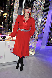 JASMINE GUINNESS at a reception to celebrate the launch of 'A Crystal Christmas'  - inspired by Swarovski and held at Harrods, Knightsbridge, London on 8th November 2011.  Following the reception a private dinner was held at One Hyde Park, Knightsbridge.