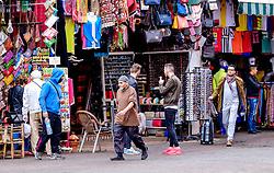 A street scene in the medina in Marrakech, Morocco, North Africa<br /> <br /> (c) Andrew Wilson | Edinburgh Elite media