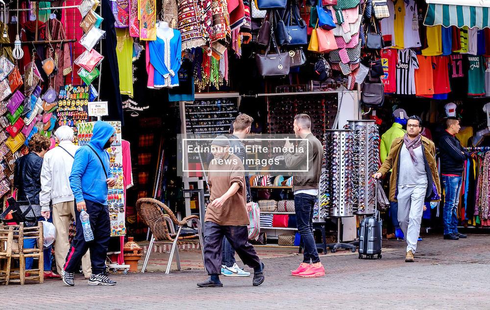A street scene in the medina in Marrakech, Morocco, North Africa<br /> <br /> (c) Andrew Wilson   Edinburgh Elite media