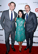Willie Giest, Meliissa Lonner and Matt Lauer attend the 2013 Billboard Women in Music Luncheon at Capitale in New York City, New York on December 10, 2013.
