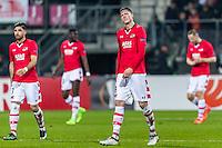 ALKMAAR - 16-02-2017, AZ - Olympique Lyon, AFAS Stadion, 1-4, AZ speler Wout Weghorst