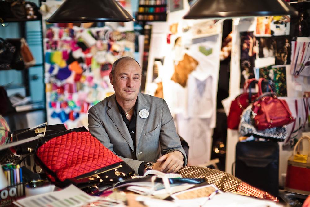 05 MAY 2011 - Scandicci (FI) - Massimo Braccialini, dir. creativo e stilista, della Braccialini
