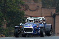 #114 Alex Harbour Caterham Supersport 1600 during the CSCC Gold Arts Magnificent Sevens at Oulton Park, Little Budworth, Cheshire, United Kingdom. October 15 2016. World Copyright Peter Taylor/PSP. <br /> Copy of publication required for printed pictures.  Every used picture is fee-liable. http://archive.petertaylor-photographic.co.uk