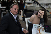 JAMES BIRCH; ELEESA DADIANI;, Opening of Photo London,  Somerset House. London. 20 May 2015