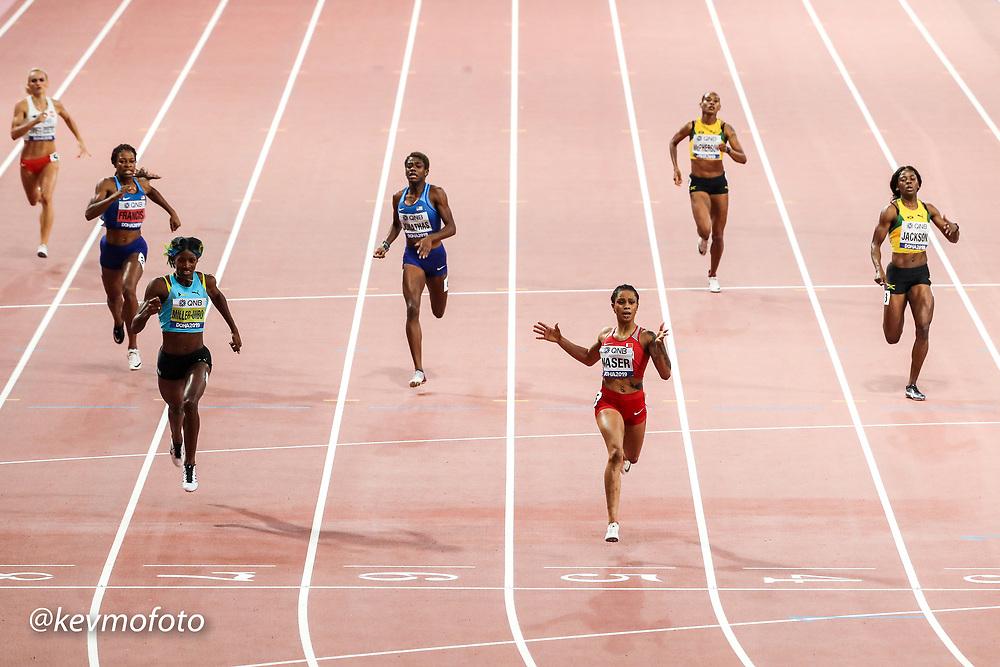 2019 IAAF World Athletics Championships held in Doha, Qatar from September 27- October 6<br /> Day 7 400 Bahrain