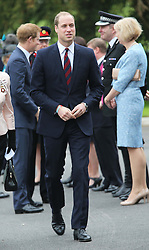 The Duke of Cambridge arriving at the Help For Heroes Recovery Centre in Tidworth, Wiltshire, Monday, 20th May 2013 Picture by:  Stephen Lock / i-Images