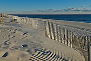 New Jersey, Mantoloking, sand fence