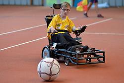 Foot Fauteuil aux Jeux Nationaux de L'Avenir