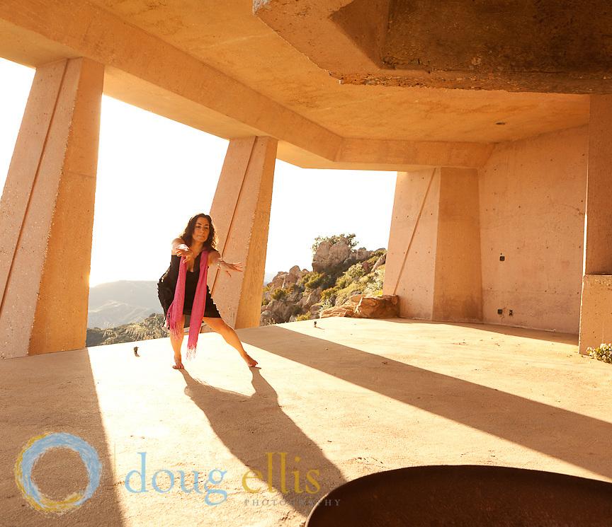 Dancing photos in Malibu..Cecily Miller