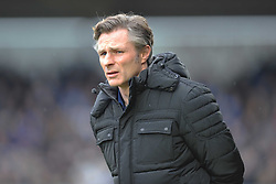 GARETH AINSWORTH MANAGER WYCOMBE WANDERES, Northampton Town v Wycombe Wanderers, Sixfields Stadium, Sky Bet League 2, Saturday 20th Febuary 2016