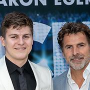 NLD/Amsterdam/20190521 - Première Rocketman, Toine van Peperstraten en zoon Diederick