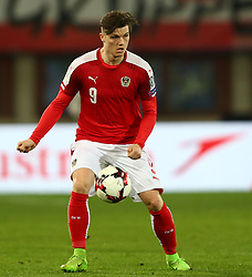 24.03.2017, Ernst Happel Stadion, Wien, AUT, FIFA WM 2018 Qualifikation, Oesterreich vs Moldawien, Gruppe D, im Bild Marcel Sabitzer (AUT) // during the FIFA World Cup 2018, group D qualifying match between Austria and Moldova at the Ernst Happel Stadion in Wien, Austria on 2017/03/24. EXPA Pictures © 2017, PhotoCredit: EXPA/ Thomas Haumer