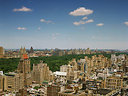 View of Central Park from 515 Park Avenue, 33rd floor