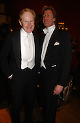 Charles Cator and Robin Hurlestone. Belle Epoche gala fundraising dinner. National Gallery. 16 March 2006. ONE TIME USE ONLY - DO NOT ARCHIVE  © Copyright Photograph by Dafydd Jones 66 Stockwell Park Rd. London SW9 0DA Tel 020 7733 0108 www.dafjones.com