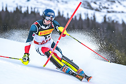 17.02.2019, Aare, SWE, FIS Weltmeisterschaften Ski Alpin, Slalom, Herren, 1. Lauf, im Bild Dave Ryding (GBR) // Dave Ryding of United Kingdom in action during his 1st run of men's Slalom of FIS Ski World Championships 2019. Aare, Sweden on 2019/02/17. EXPA Pictures © 2019, PhotoCredit: EXPA/ Dominik Angerer