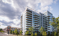 Architectural image of Verde Point A[artments, townhouses and Retail in Arlington VA by Jeffrey Sauers of Commercial Photographics, Architectural Photo Artistry in Washington DC, Virginia to Florida and PA to New England