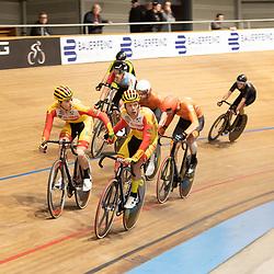 29-12-2019: Wielrennen: NK Baan: Alkmaar<br />Wim Stroetinga en Yoeri Havik pakken de titel op de madison