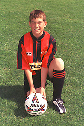 KETTERING MASCOT, Kettering  Town v Peterborough United, Maunsell Cup Rockingham Road 5th March 2000