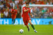 Portugal midfielder Conclamo Guedes (17) on the ball during the UEFA Nations League match between Portugal and Netherlands at Estadio do Dragao, Porto, Portugal on 9 June 2019.