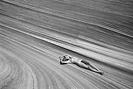 Nude Lying down, The Wave ArizonaNude Lying down, The Wave, Arizona