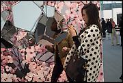 SIRINE OJJEY; DARA HUANG, Opening of Frieze art Fair. London. 14 October 2014