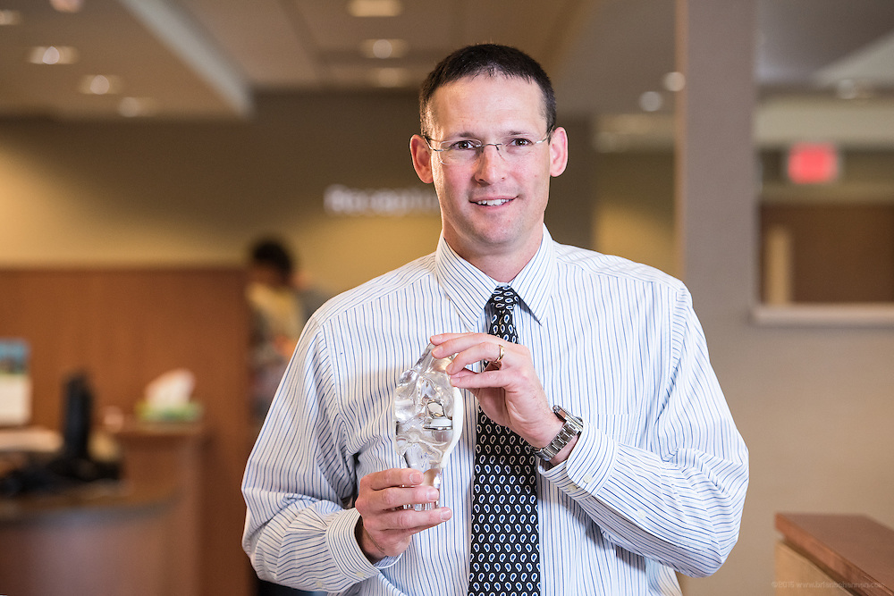 Orthopedic Surgeon James C. Dodds, MD, photographed Wednesday, May 13, 2015 at Baptist Health in Madisonville, Ky. (Photo by Brian Bohannon/Videobred for Baptist Health)