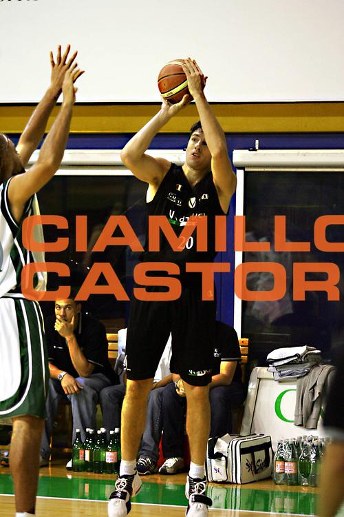 DESCRIZIONE : Bologna Precampionato Lega A1 2006-07 Vidivici Bologna-Montepaschi Siena <br />GIOCATORE : Michelori <br />SQUADRA : Vidivici Bologna<br />EVENTO : Precampionato Lega A1 2006-2007 Trofeo Quadrifoglio <br />GARA : Vidivici Bologna Montepaschi Siena <br />DATA : 16/09/2006 <br />CATEGORIA : Tiro <br />SPORT : Pallacanestro <br />AUTORE : Agenzia Ciamillo-Castoria/M.Marchi<br />Galleria : Lega Basket A1 2006-2007 <br />Fotonotizia : Bologna Precampionato Italiano Lega A1 2006-2007 Trofeo Quadrifoglio Vita Vidivici Bologna-Montepaschi Siena<br />Predefinita :