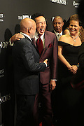 8 February -Washington, D.C: (L-R) Music Executive Berry Gordy, Recording Artist Smokey Robinson and Debra L. Lee, Presiden & Chairperson, BET Networks attend the BET Honors 2014 Red Carpet held at the Warner Theater on February 8, 2014 in Washington, D.C.  (Terrence Jennings)