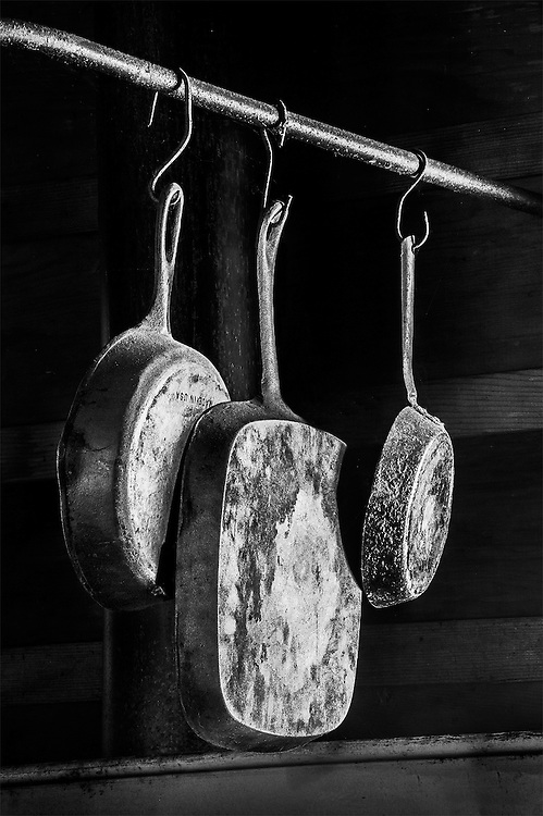 Skillets, Blue Ox Mill, Eureka, CA