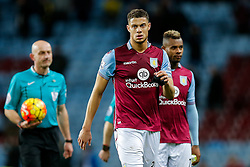Rudy Gestede of Aston Villa looks dejected after Everton win 1-3 - Mandatory byline: Rogan Thomson/JMP - 01/03/2016 - FOOTBALL - Villa Park Stadium - Birmingham, England - Aston Villa v Everton - Barclays Premier League.