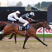 Don't Have It Then and Chris Catlin winning the 2.00 race