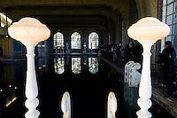 The Roman Pool Rail & Columns - Hearst Castle, San Simeon, California