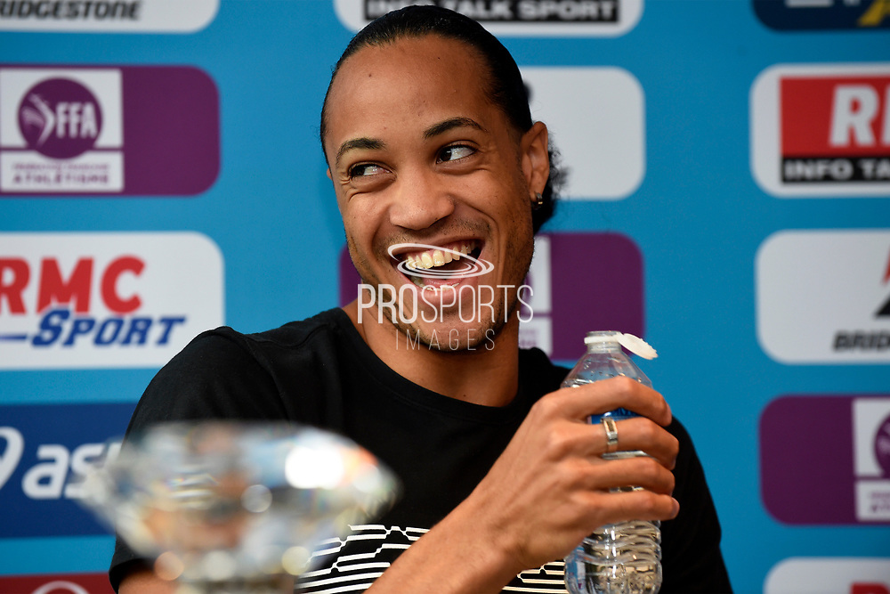 Pascal Martinet-Lagarde (FRA) during press conference of Meeting de Paris 2018, Diamond League, at Hotel Marriott, in Paris, France, on June 29, 2018 - Photo Jean-Marie Hervio / KMSP / ProSportsImages / DPPI