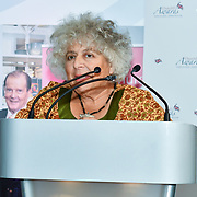 Winner of  Stage & Screen – Miriam Margolyes the 7th annual Churchill Awards honour achievements of the Over 65's at Claridge's Hotel on 10 March 2019, London, UK.