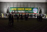Roma 26  Gennaio 2013.Il partito di centro destra Fratelli d Italia apre la campagna elettorale.Rome January 26, 2013.The new center-right party: Brothers of Italy opens the campaigning..