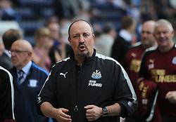 Newcastle United manager Rafa Benitez - Mandatory by-line: Jack Phillips/JMP - 22/07/2017 - FOOTBALL - Deepdale - Preston, England - Preston North End v Newcastle United - Pre-Season Club Friendly