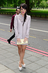 Lily Allen arriving at the Ivor Novello Awards in  London, Thursday, 22nd May 2014. Picture by  i-Images