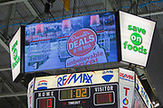KELOWNA, CANADA - MARCH 03:  Save on Foods at the Kelowna Rockets game on March 03, 2018 at Prospera Place in Kelowna, British Columbia, Canada.  (Photo By Cindy Rogers/Nyasa Photography,  *** Local Caption ***