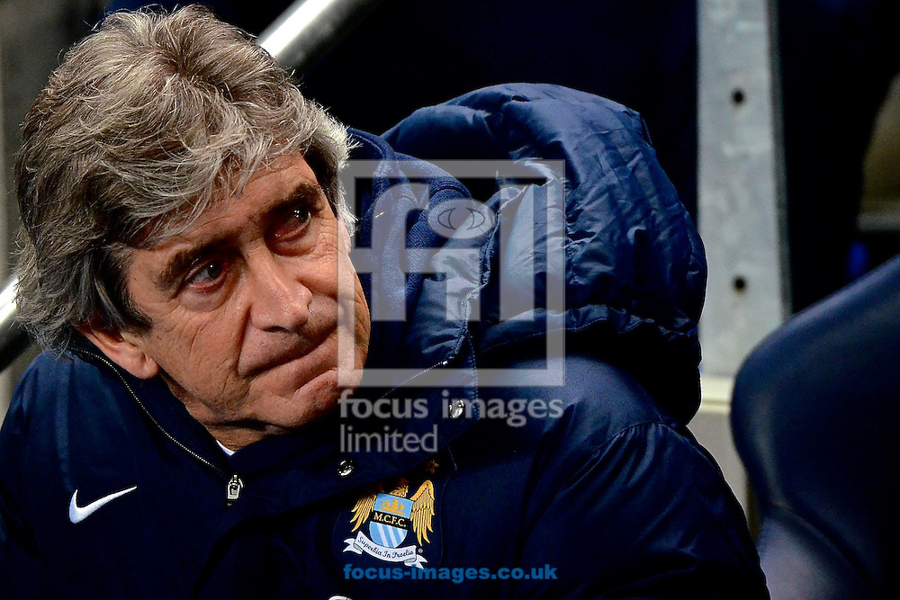 Picture by Ian Wadkins/Focus Images Ltd +44 7877 568959<br /> 15/01/2014<br /> Manchester City manager Manuel Pellegrini ahead of the The FA Cup match at the Etihad Stadium, Manchester.