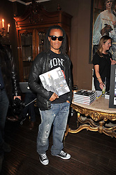 Footballer EDGAR DAVIDS at a party to celebrate the publication of her new book - Kelly Hoppen: Ideas, held at Beach Blanket Babylon, 45 Ledbury Road, London W11 on 4th April 2011.