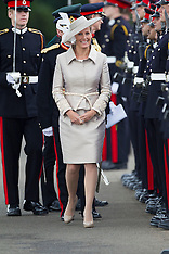 AUG 09 2013 Countess of Wessex at the Sovereigns Parade,Sandhurst