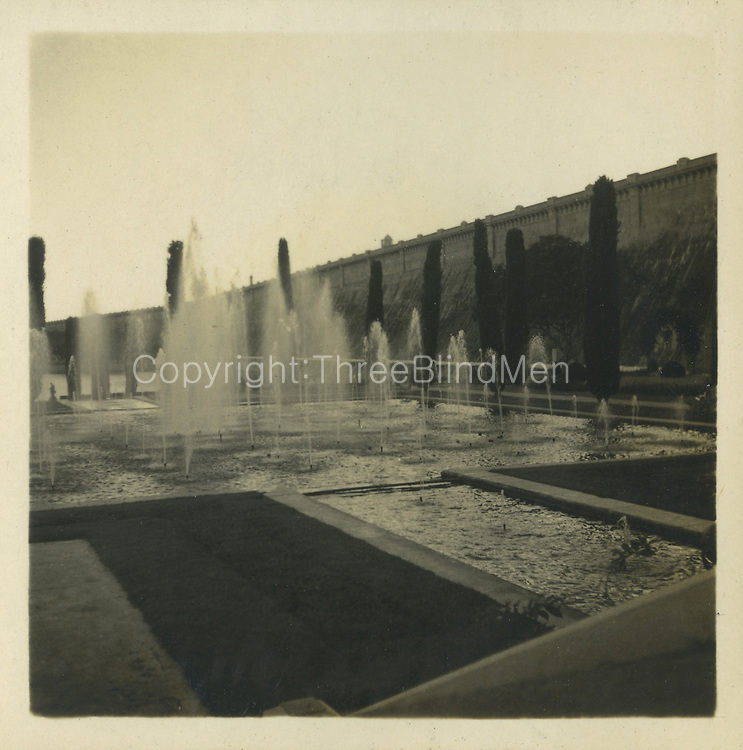 Brindavan Gardens, India &mdash; the glory of the place is by night when it all is illuminated. On a trip with my parents in January 1948.<br /> from the Tony Peries Collection.