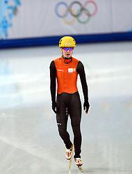 08-02-2014 SHORTTRACK: OLYMPIC GAMES: SOTSJI<br /> Yara van Kerkhof weet zich niet voor de halve finale 500 m te plaatsen.<br /> ©2014-FotoHoogendoorn.nl