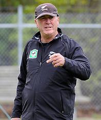 Dunedin-New Zealand cricket training